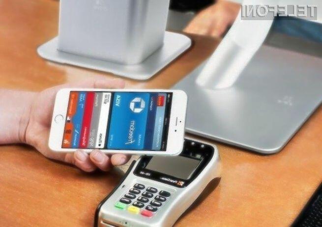 Apple Pay je med prodajalci vse bolj zaželen način plačevanja.