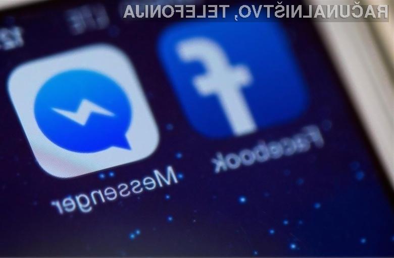 Facebook Messenger naj bi kmalu začel razpošiljati reklamna sporočila.