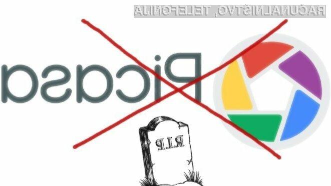Spletna storitev Google Picasa bo nemoteno delovala le še do 1. maja letos.