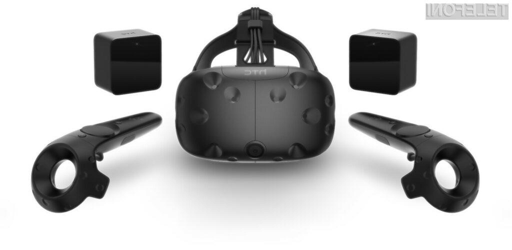Družbi HTC in Valve s predstavitvijo potrošniške različice Vive uresničujeta navidezno resničnost
