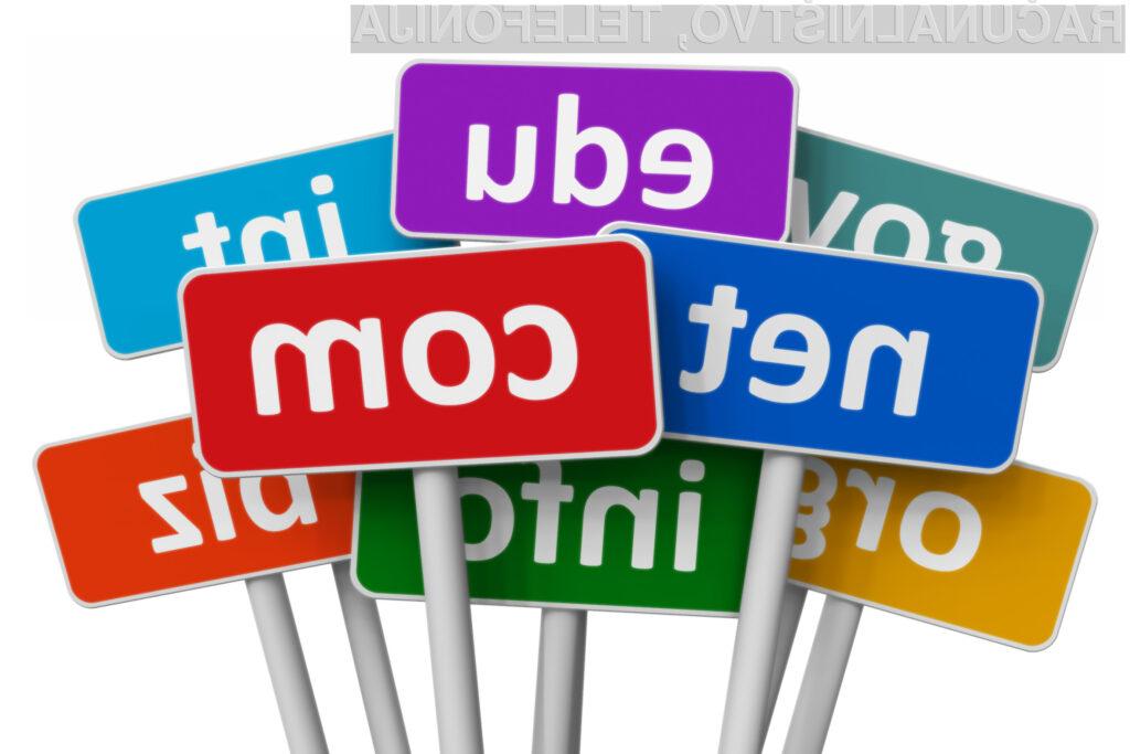 Dražbe vrhnjih domen so za ICANN zelo dobičkonosne!
