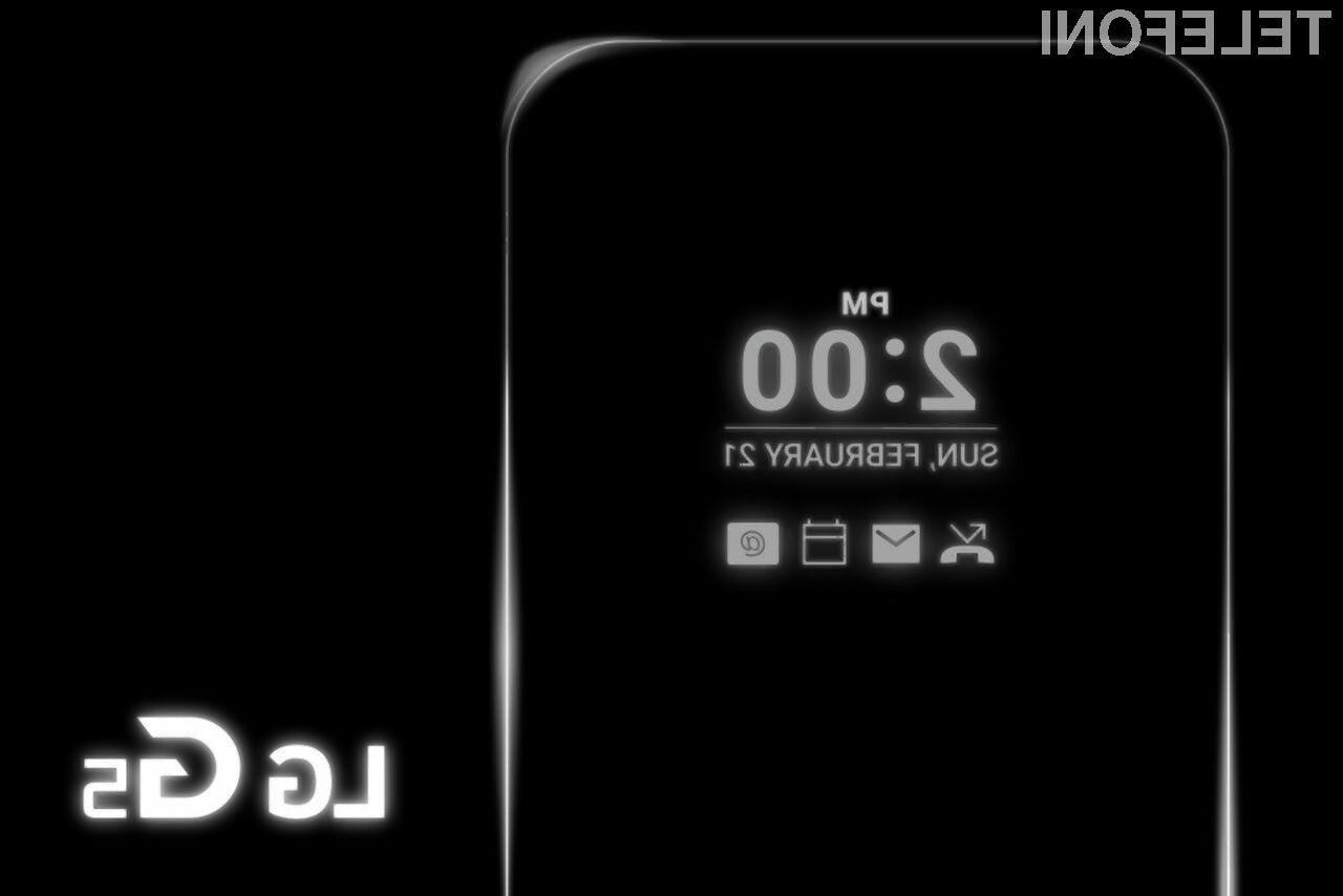 LG G5 naj bi prinesel nove standarde na področje pametnih mobilnih telefonov!