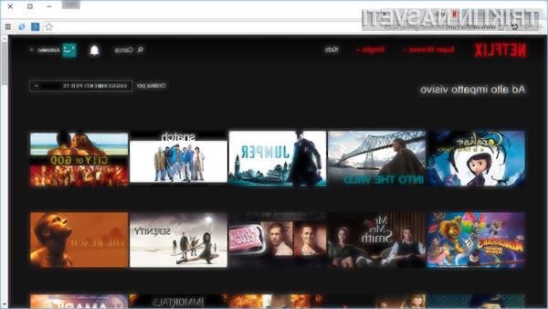 Do prekritih vsebin na Netflixu lahko odslej dostopamo hitreje in enostavneje!