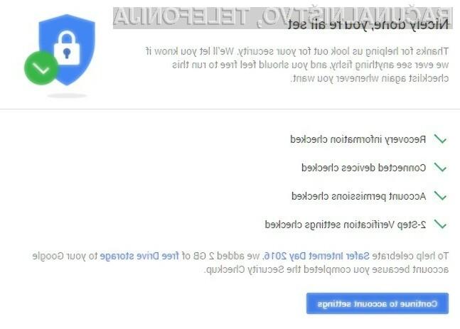 Uporabniki spletne storitve Google Drive lahko enostavno pridejo do dodatnih dveh gigabajtov!