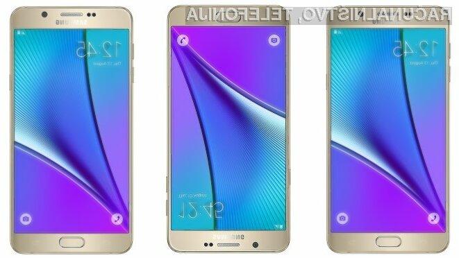 Pametni mobilni telefon Samsung Galaxy Note 6 naj bi bil brez konkurence!