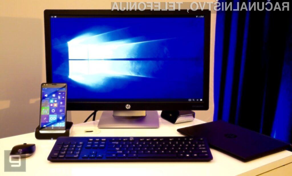 Uporabniki mobilnega telefona HP Elite X3 ne bodo potrebovali prenosnikov!
