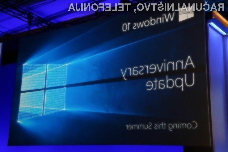 Posodobitev Anniversary Update za Windows 10 bo na voljo poleti!