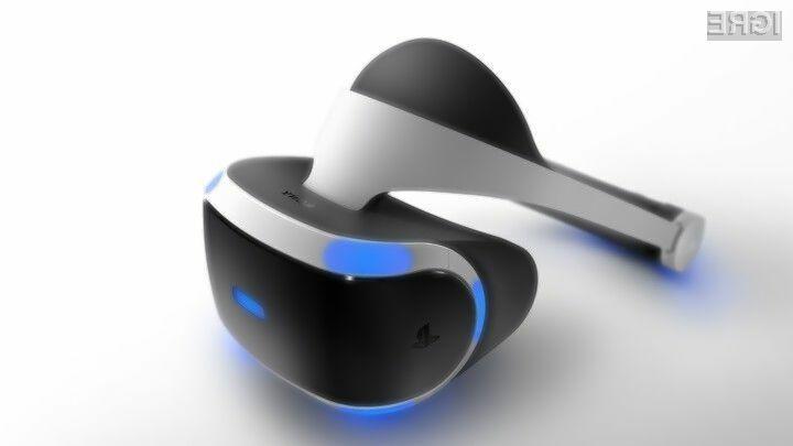Za večpredstavnostna očala Sony PlayStation VR bo letos na voljo vsaj 50 iger!