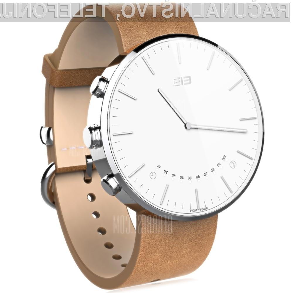 Elephone W2: Elegantna pametna ročna ura za 45 evrov!