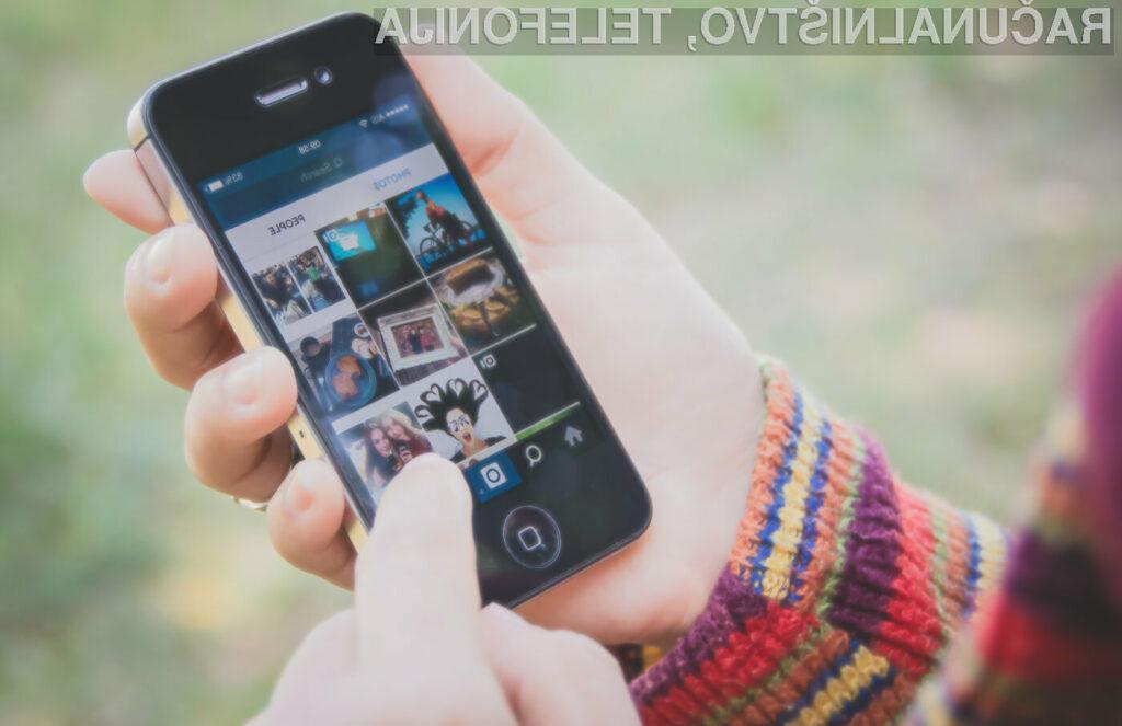 Instagram je konkurenčnima platformama Telegram in Snapchat napovedal vojno!