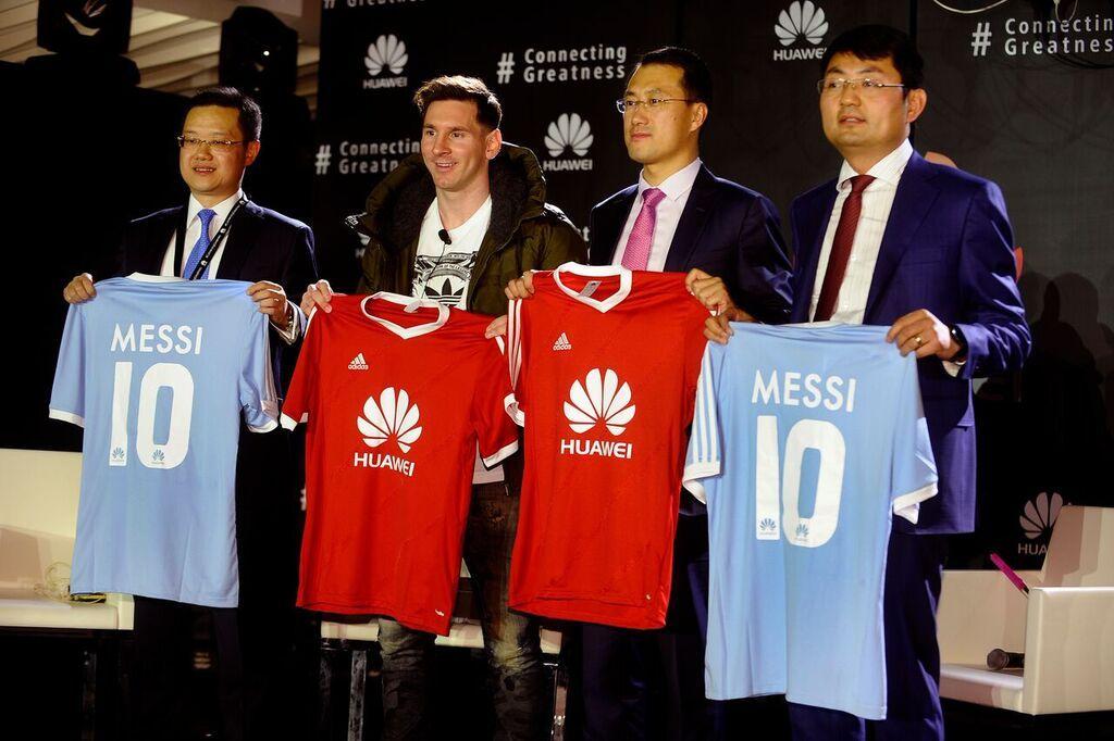 Lionel Messi se je pridružil družini ambasadorjev podjetja Huawei