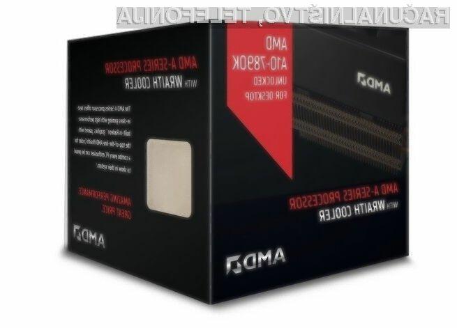 A10-7890K je trenutno najzmogljivejši procesor AMD za osebne računalnike.