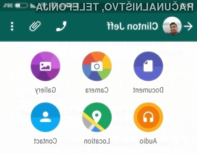 Novi WhatsApp za Android je še boljši in uporabnejši!