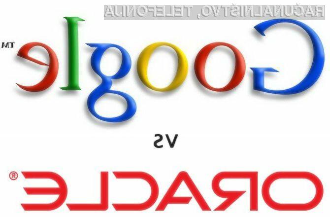 Sodišče bo nedvomno imelo veliko dela pri sporu med podjetjema Google in Oracle!