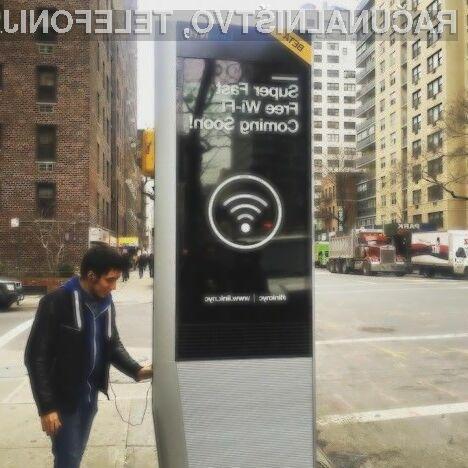 V New Yorku kmalu največje in najhitreje omrežje Wi-Fi na svetu!