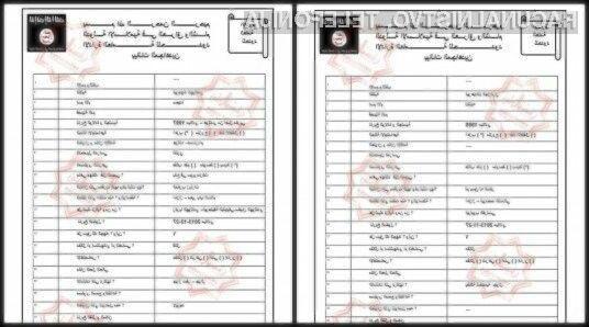 Teroristom je bilo odtujenih kar 22 tisoč zaupnih dokumentov.