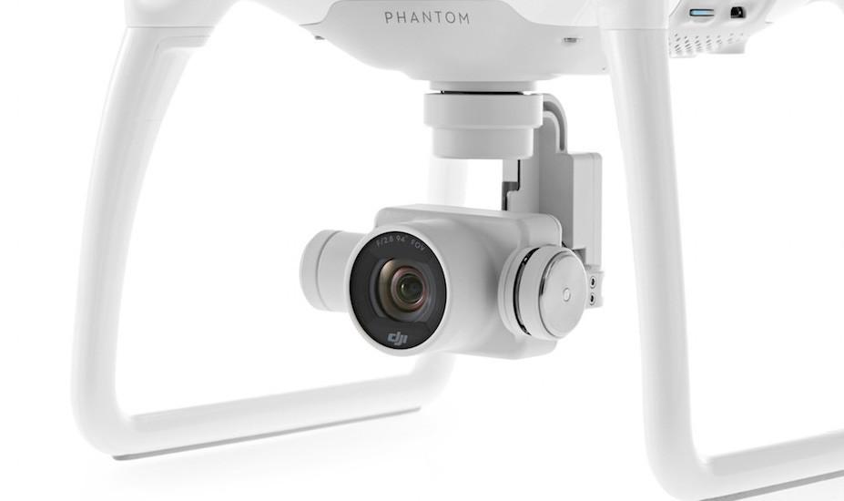 Kamera na DJI Phantom 4