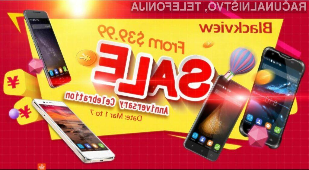 Marčevska razprodaja pametnih mobilnih telefonov!