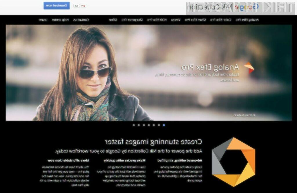 Programska oprema Nik Collection je odslej brezplačna.