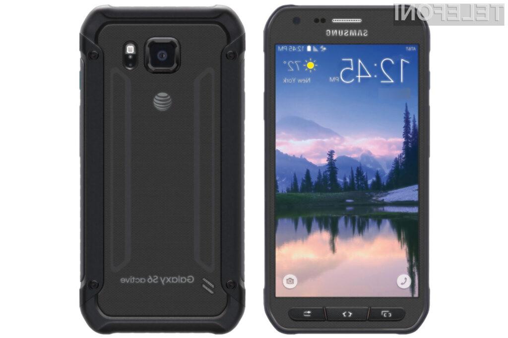 Mobilni telefon Samsung Galaxy S7 Active naj bi zlahka prepričal aktivne!