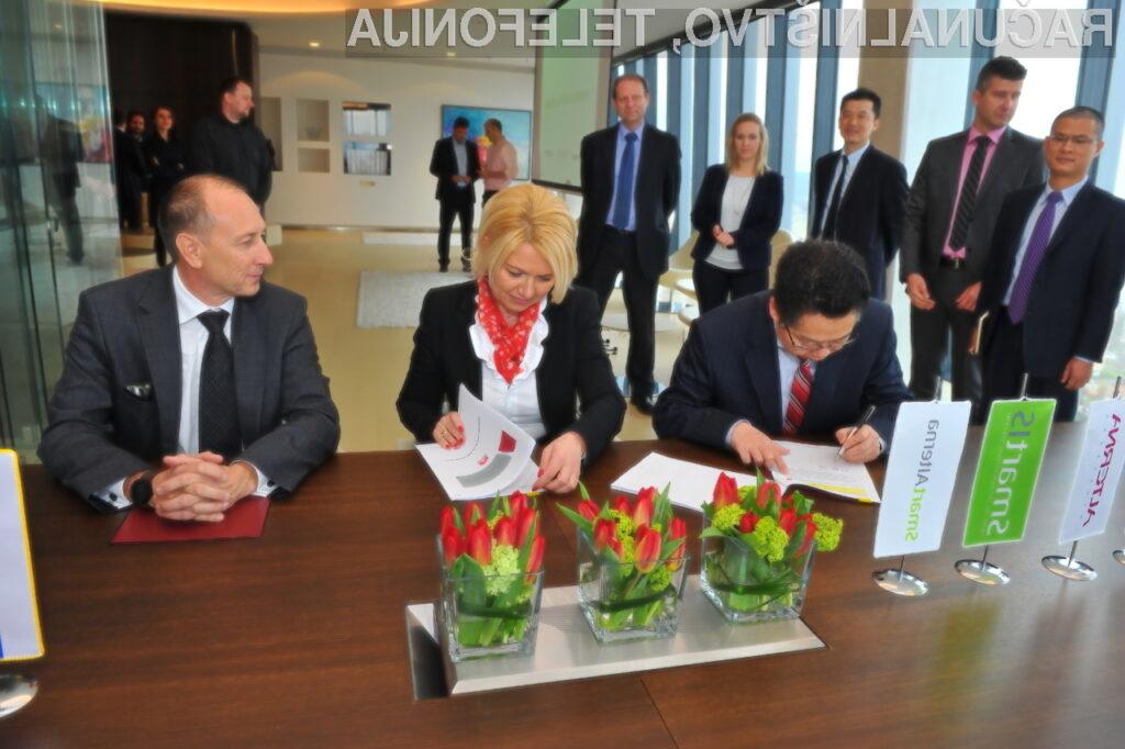 Huawei velikopotezno na slovenski trg poslovnih IKT-rešitev