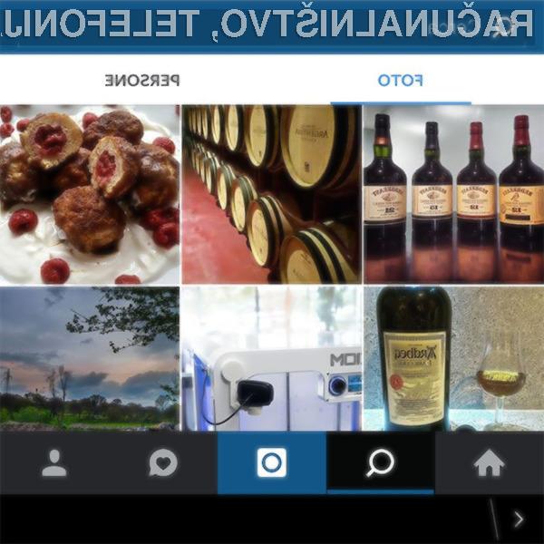 Sprememba razvrščanja slik je razjezila marsikaterega uporabnika Instagrama!