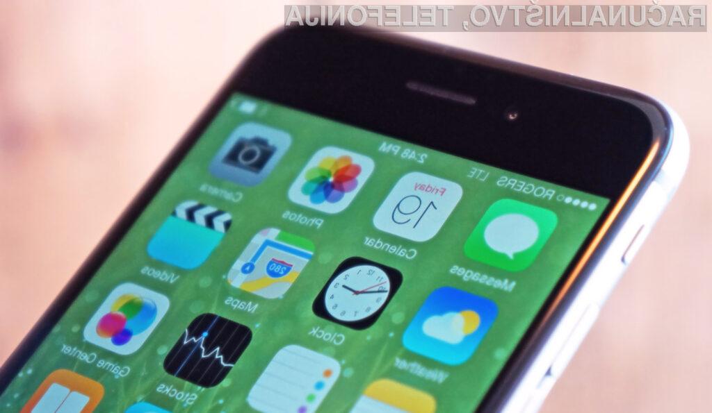 V mobilnem operacijskem sistemu iOS 9.3 mrgoli napak!
