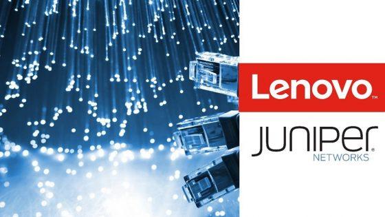 Lenovo Juniper Networks partnerstvo
