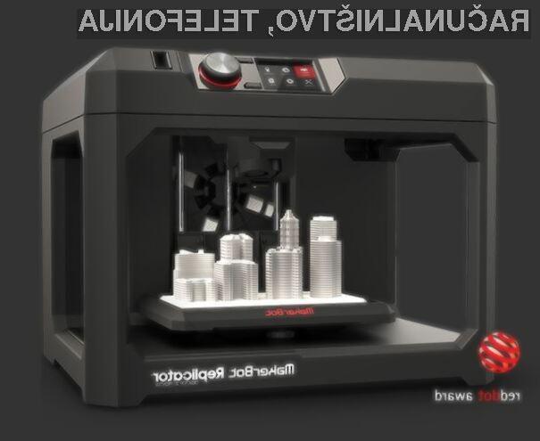 Nagrada Red Dot za MakerBot Replicator
