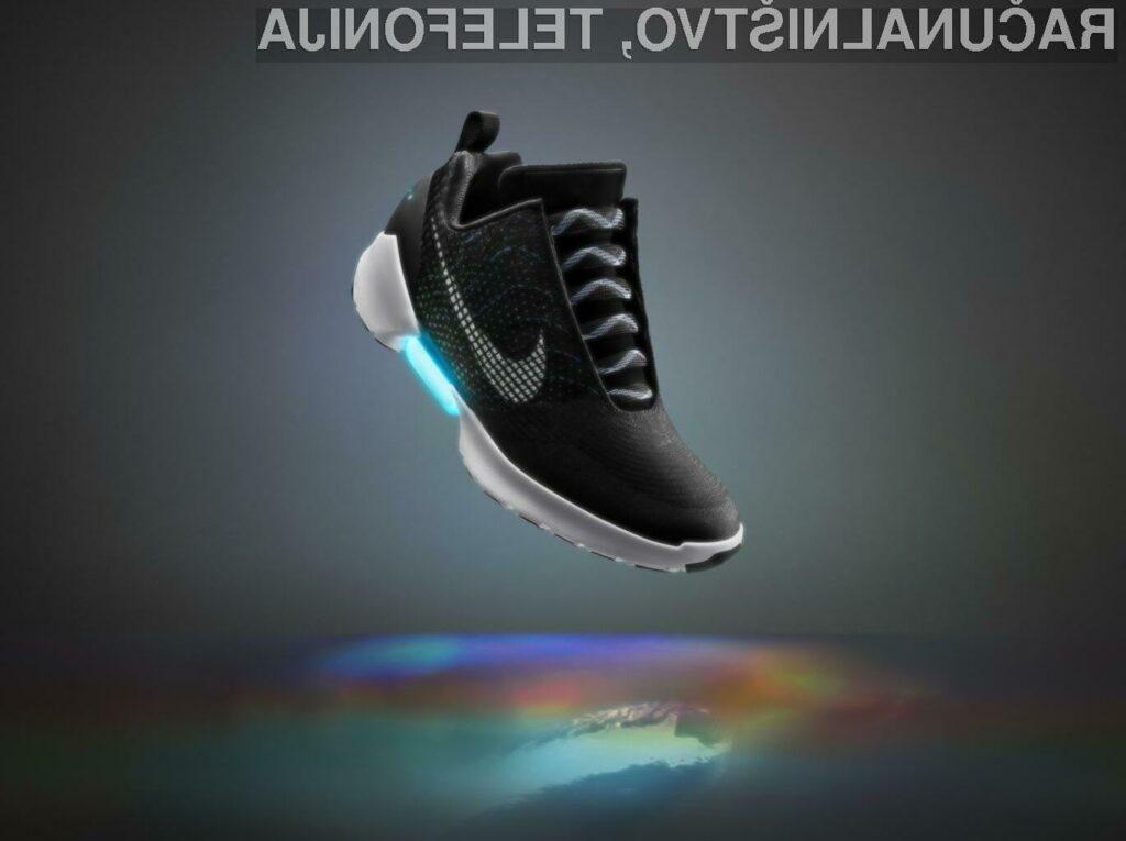 Športne copate Nike+ (Plus) s tehnologijo Nike HyperAdapt 1.0 bodo naprodaj že letos.