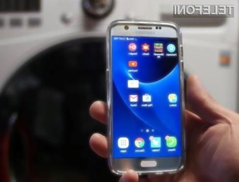 Samsung Galaxy S7 je brez težav preživel pranje v pralnem stroju.