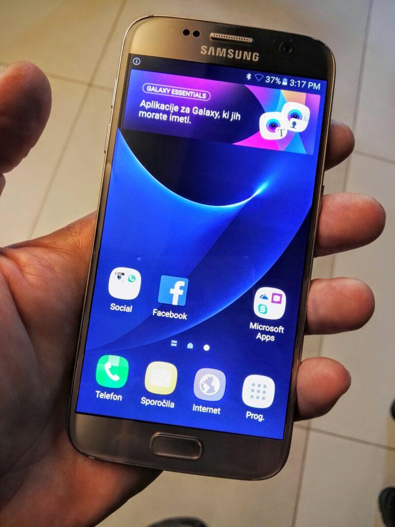 »Naša« mobilnika Galaxy S7 in S7 Edge bo gnal drugačen procesor kot čez lužo
