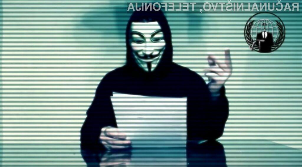 Donald Trump se je s svojimi izjavami že močno zameril hekerski skupini Anonymous.