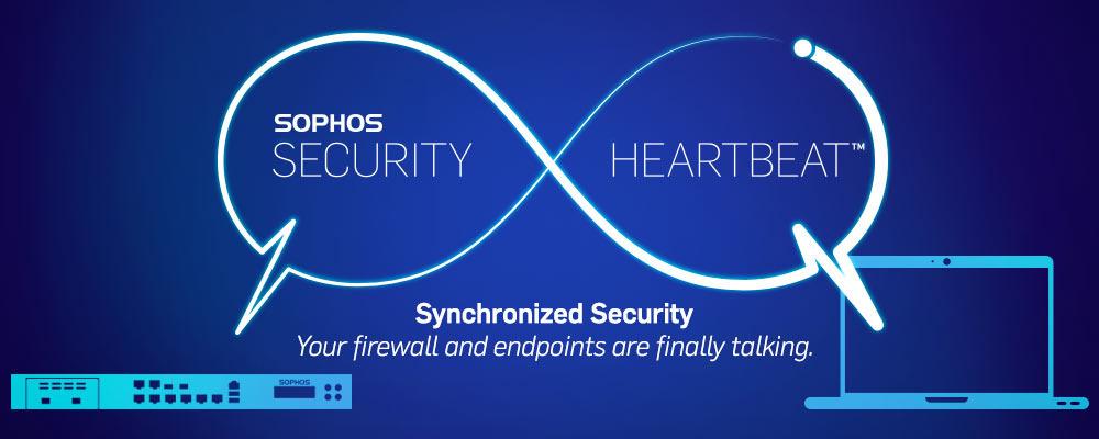Sophos tehnologija Heartbeat omogoča komuniciranje med napravami in tako boljšo varnost.