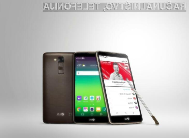Pametni mobilni telefon LG Stylus DAB+ je pisan na kožo ljubiteljem radijskih postaj!