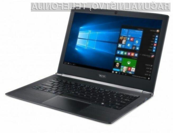 Komaktni Acer Aspire S za relativno nizko ceno ponuja veliko!