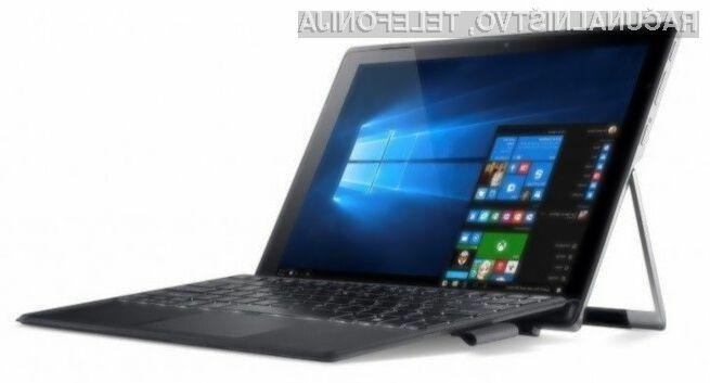 Hibridni Acer Switch Alpha lahko uporabljamo za vse priložnosti!