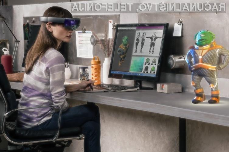 Zmogljiva strojna oprema očala za navidezno resničnost Microsoft HoloLens zlahka opravi tudi z najtežjimi nalogami.