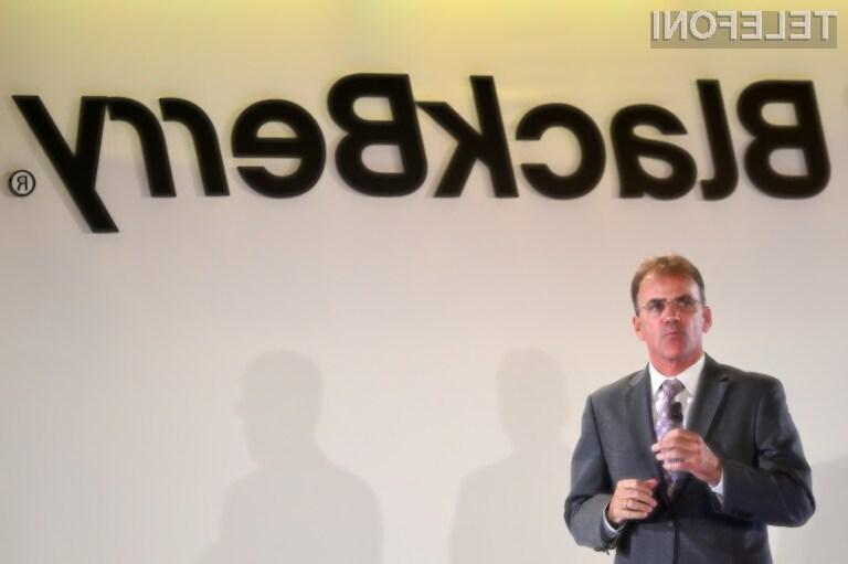 BlackBerry naj bi že sprejel odločitev o umiku iz trga pametnih mobilnih telefonov!