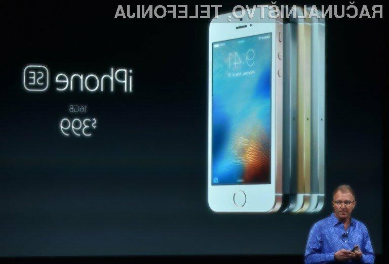 Stroški izdelave pametnega mobilnega telefona iPhone SE so povsem nizki!