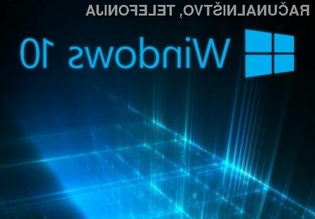 Operacijski sistem Windows 10 postaja vse bolj priljubljen!