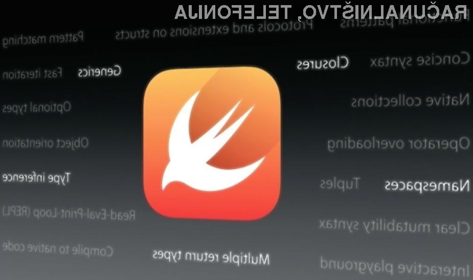 Apple Swift za pripravo aplikacij za Android?