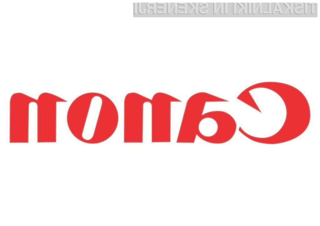 Canonovi originalni tonerji s 37,7 odstotka boljšim izkoristkom kot neoriginalni