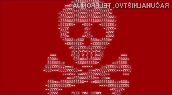 Okužba s škodljivo programsko kodo Petya vam bo preprečila ponovni zagon računalnika.