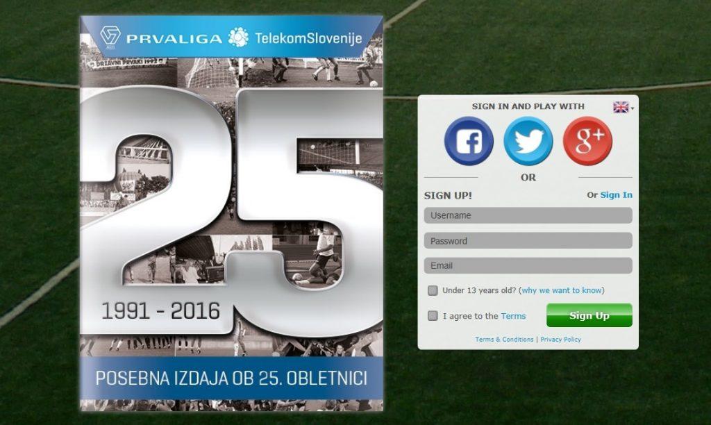 Telekom Slovenije pripravil poseben digitalni album ob 25-letnici slovenskega nogometnega prvoligaškega tekmovanja
