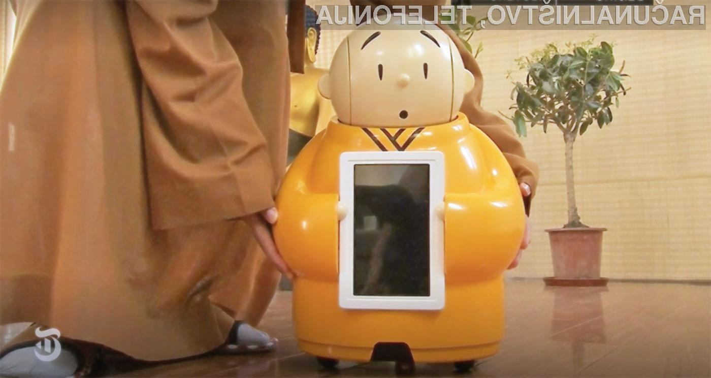 Robot menih je navdušil tako mlajše kot starejše!