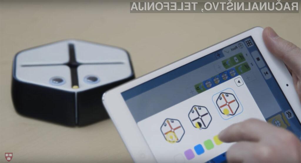 Miniaturnim robot za učenje veščin programiranja Root bo zagotovo navdušil najmlajše!