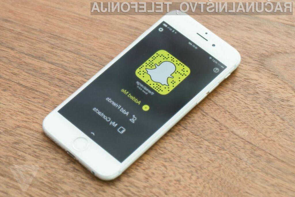 Snapchat je na račun novih možnosti nadvse priljubljen predvsem med mladimi.