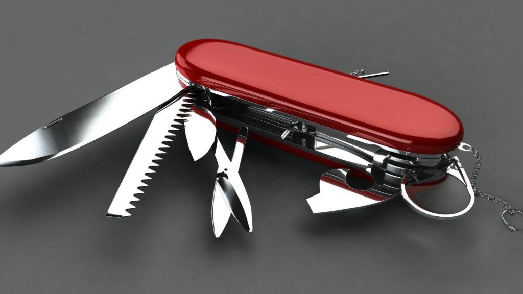 Švicarski nož med poslovnimi rešitvami