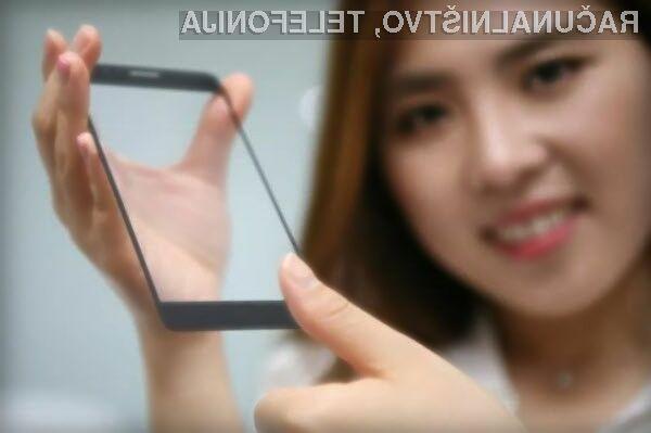Inovativni bralnik prstnih odtisov podjetja LG lahko prepozna prstni odtis tudi pod zaščitnim steklom.